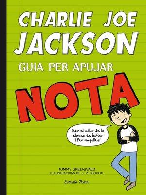 cover image of Charlie Joe Jackson. Guia per apujar nota