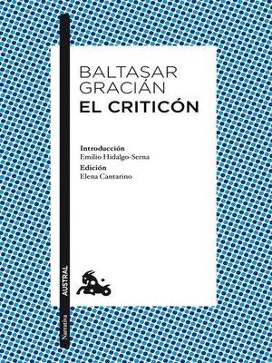 cover image of El criticón