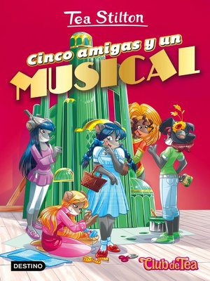 cover image of Cinco amigas y un musical