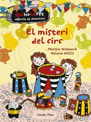 cover image of El misteri del circ. Quihohafet 2