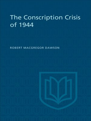 cover image of The Conscription Crisis of 1944