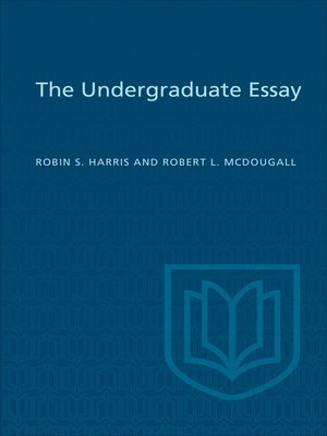 cover image of The Undergraduate Essay