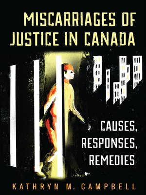 cover image of Miscarriages of Justice in Canada