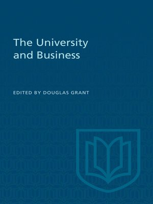 cover image of The University and Business