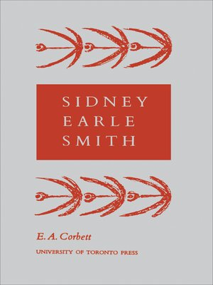 cover image of Sidney Earle Smith