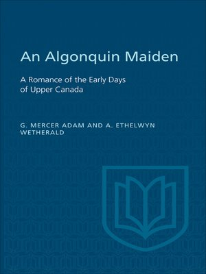 cover image of An Algonquin Maiden