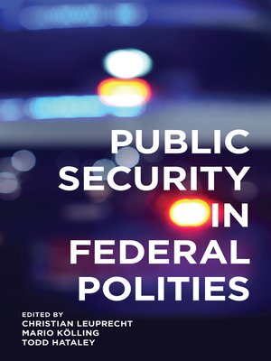 cover image of Public Security in Federal Polities