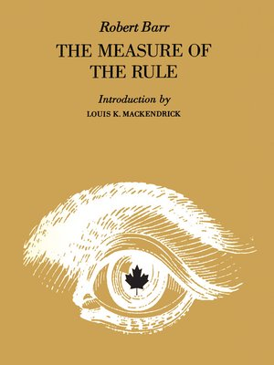 cover image of Measure of the Rule