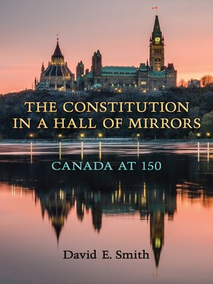 cover image of The Constitution in a Hall of Mirrors
