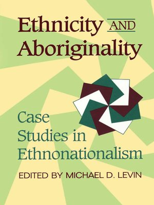 cover image of Ethnicity and Aboriginality