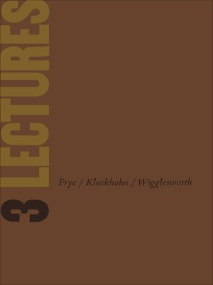cover image of Three Lectures