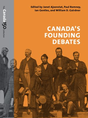 cover image of Canada's Founding Debates