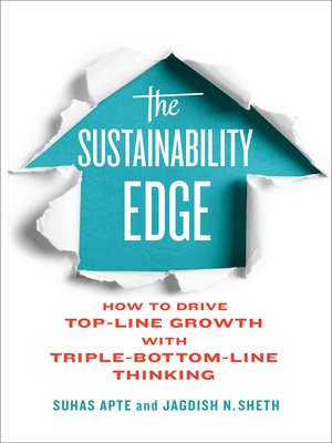 cover image of The Sustainability Edge