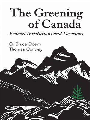 cover image of The Greening of Canada