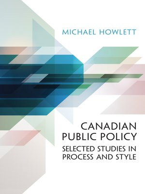 cover image of Canadian Public Policy