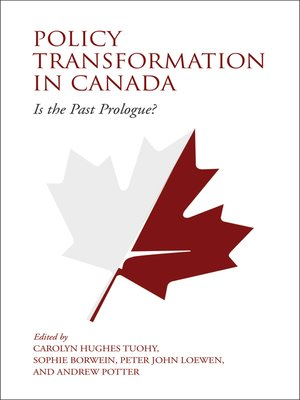 cover image of Policy Transformation in Canada