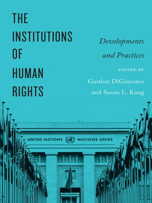 cover image of The Institutions of Human Rights