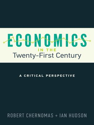 cover image of Economics in the Twenty-First Century