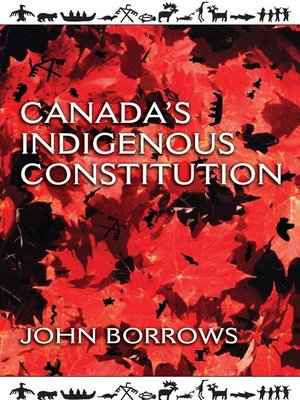 cover image of Canada's Indigenous Constitution