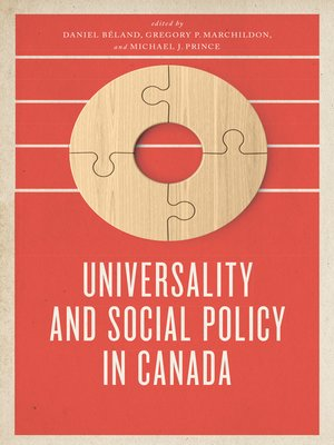 cover image of Universality and Social Policy in Canada
