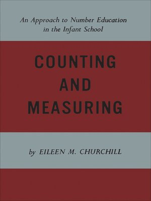 cover image of Counting and Measuring