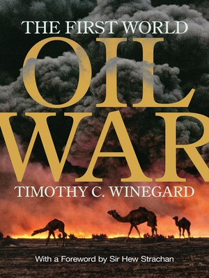 cover image of The First World Oil War