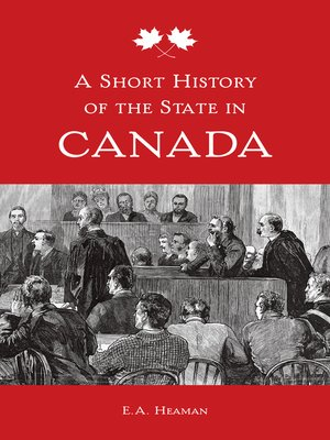 cover image of A Short History of the State in Canada