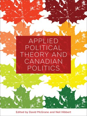cover image of Applied Political Theory and Canadian Politics