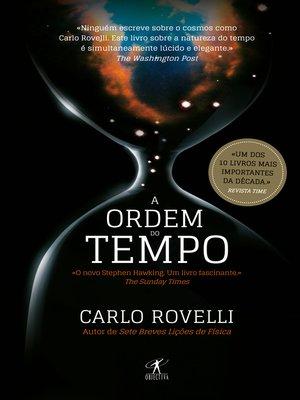 cover image of A Ordem do Tempo