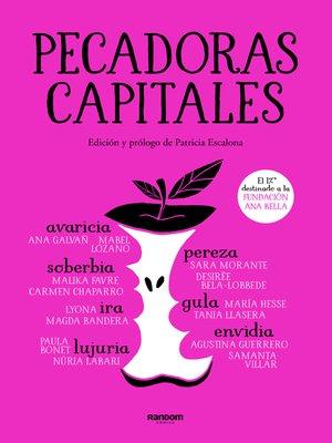 cover image of Pecadoras capitales