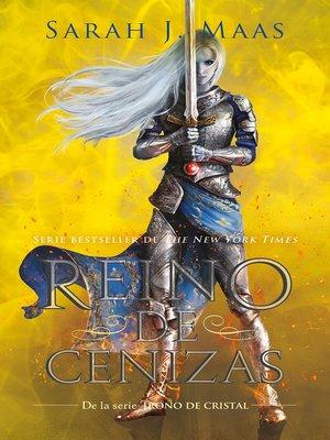 cover image of Reino de cenizas (Trono de Cristal 7)