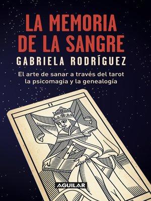 cover image of La memoria de la sangre