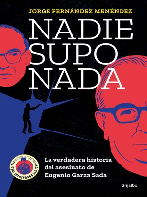 cover image of Nadie supo nada