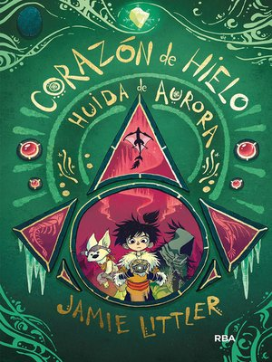 cover image of Huida de Aurora (Corazón de hielo 2)