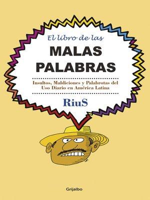 cover image of El libro de las malas palabras