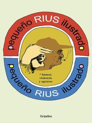 cover image of Pequeño Rius ilustrado