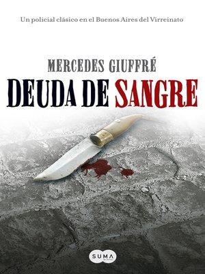 cover image of Deuda de sangre
