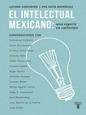 cover image of El intelectual mexicano