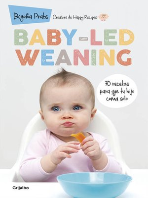 cover image of Baby-led weaning