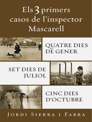 cover image of Els 3 primers casos de l'inspector Mascarell