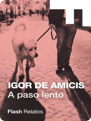 cover image of A paso lento