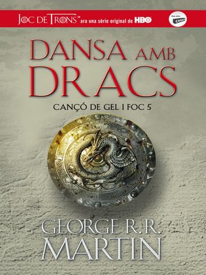 cover image of Dansa amb dracs (Cançó de gel i foc 5)
