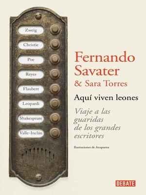 cover image of Aquí viven leones