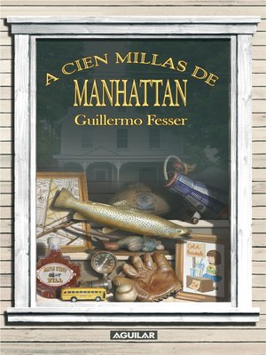 cover image of A cien millas de Manhattan