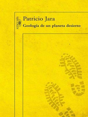 cover image of Geología de un planeta desierto