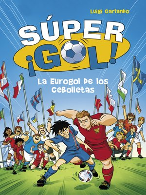 cover image of La Eurogol de los Cebolletas