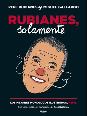 cover image of Rubianes, solamente