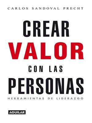 cover image of Crear valor con las personas
