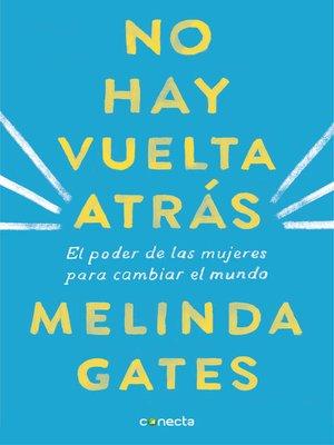 cover image of No hay vuelta atrás
