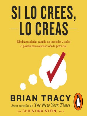 cover image of Si lo crees, lo creas